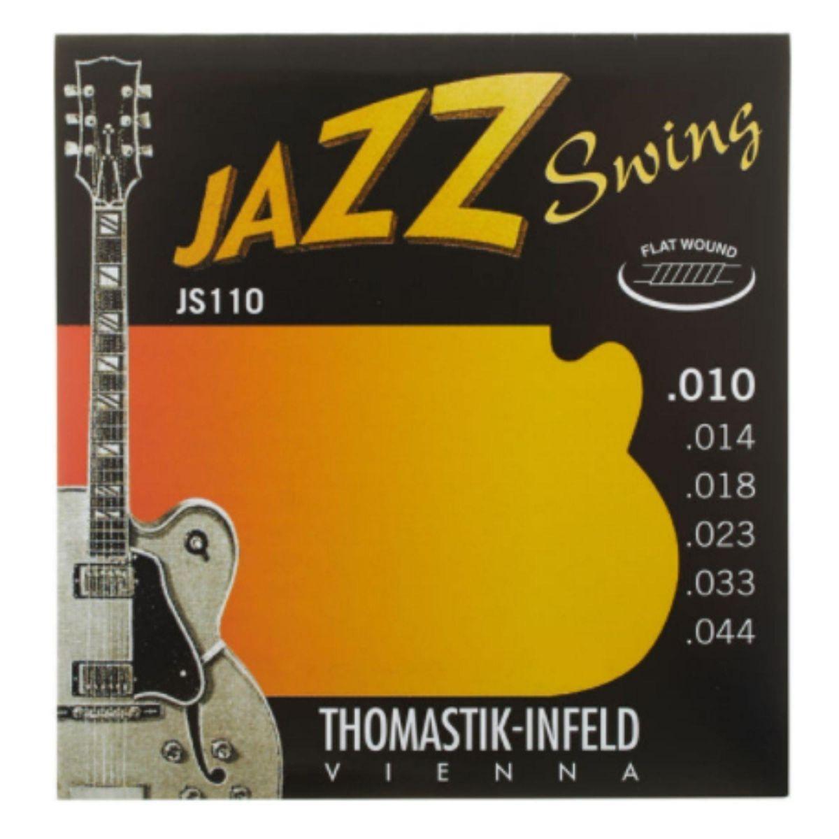 Corde elettrica Thomastik JS110 jazz swing 10-44