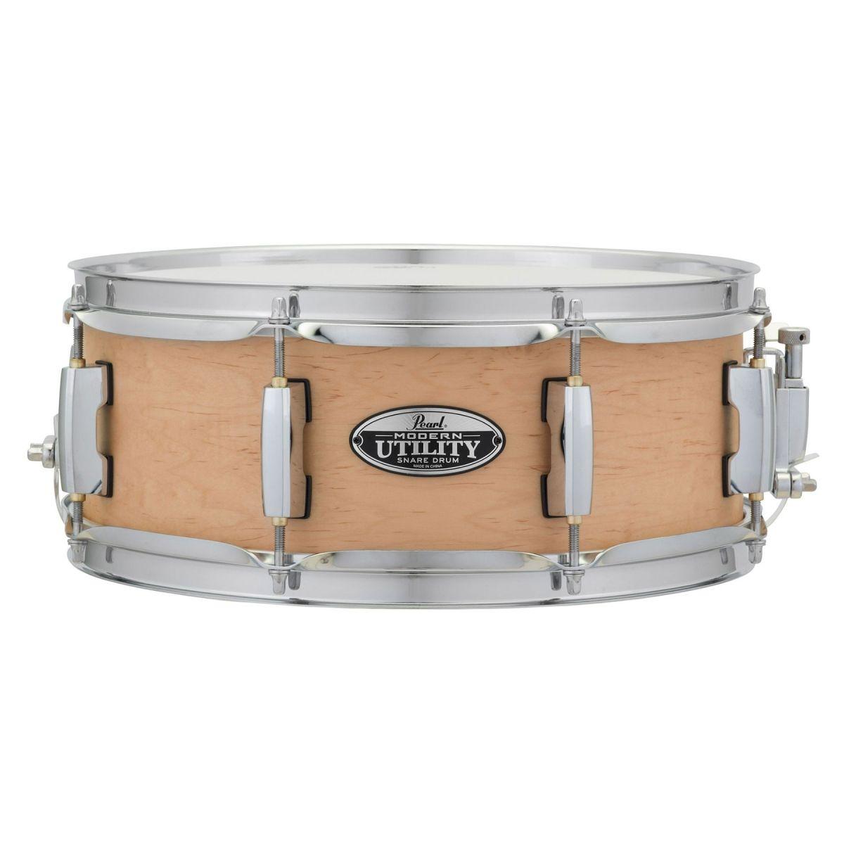 "Rullante Pearl Modern Utility acero 14x5,5"" Matte Natural"