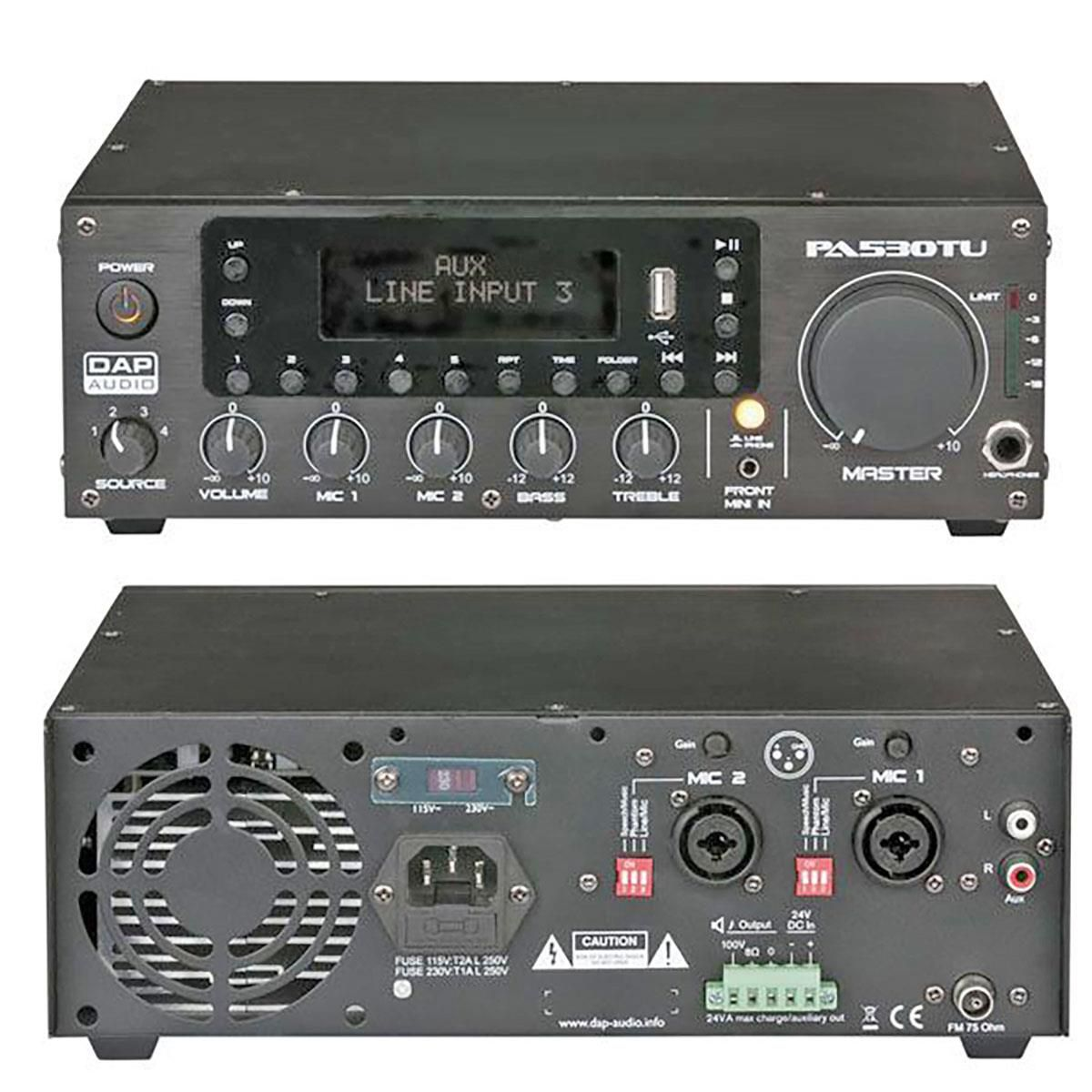 Finale Dap Audio PA-530TU 30w