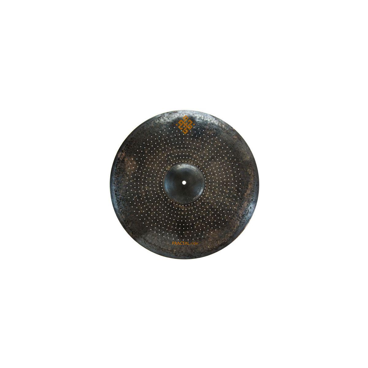 """Piatto T-Cymbals 21"""" Fractal Ride"""