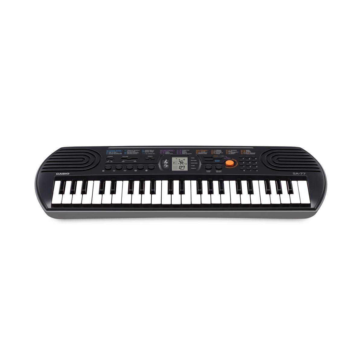 Tastiera Arranger Casio SA77 (base grigia) 44 tasti mini