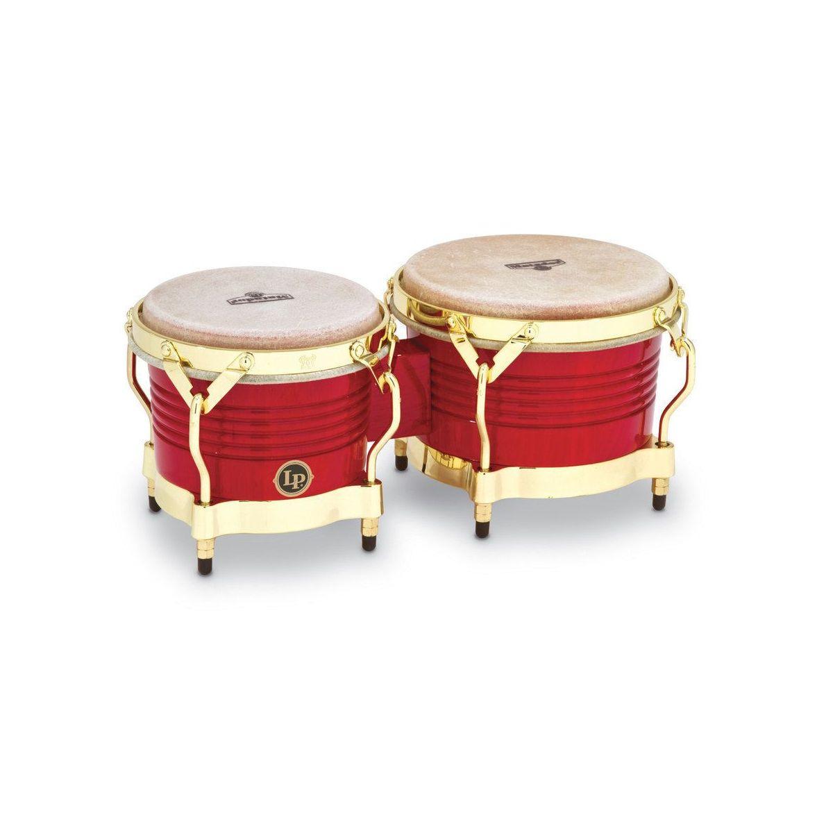 "Bongo LP Matador M201-RW 7 1/4""+ 8 5/8"" red gold"