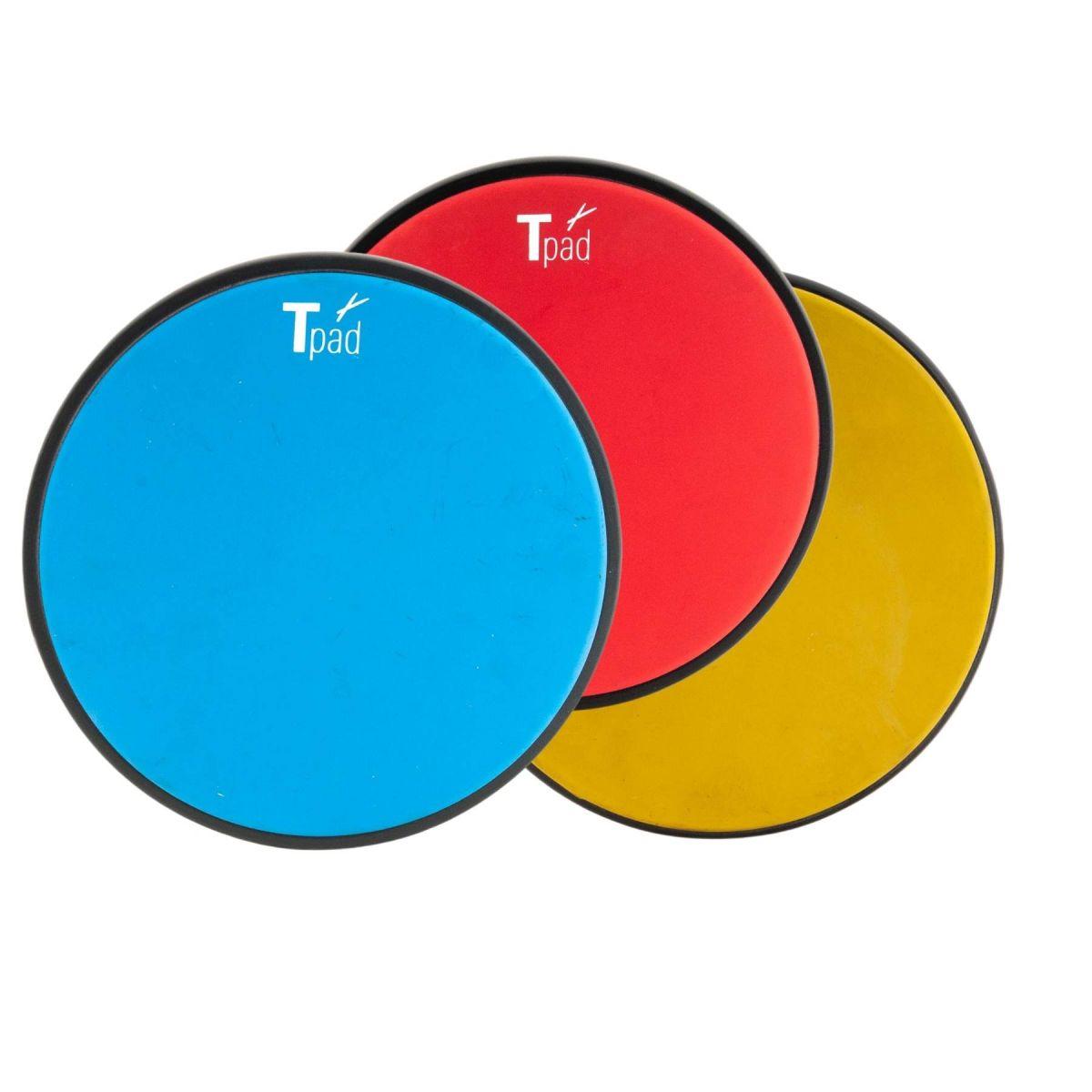 """Allenatore batteria T-Cymbals 10"""" Tpad TP-1 vari colori"""